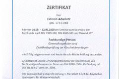 2020-09-12-Zertifikat-Abscheideranlagen-Fachkunde